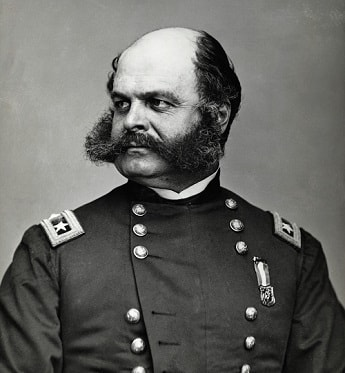 Photo of General Ambrose Burnside