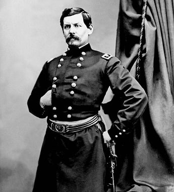 Photograph of General McClellan in Civil War uniform