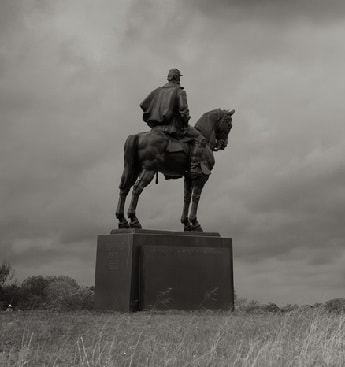Statue of Stonewall Jackson at Manassas National Battlefield