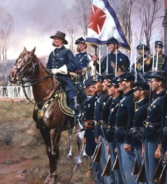 Union Soldiers at Appomattox Court House